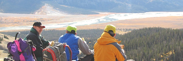 Nature Tours of Yukon-Aurora Borealis, hiking, canoeing, arctic tours